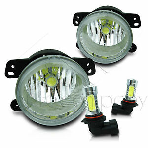 05 10 Chrysler 300 3 5l W touring Model Replacement Fog Lights W cob Led Bulbs