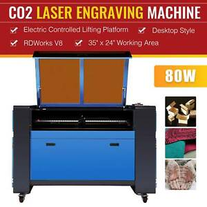 40w Co2 Laser Engraving Machine 12 x 8 Engraver Cutter W Exhaust Fan Usb Port