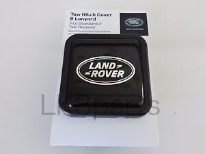 Land Rover Range Sport Lr3 Lr4 2 Tow Hitch Plug Cover With Logo Vplwy0084 New