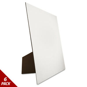 Eco Brites Easel Backed Board 22x28 White 1 each 6 Pack