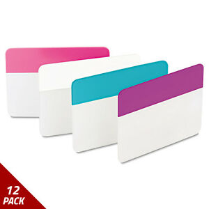 Post it Tabs File Tabs 2 X 1 1 2 Assorted Pastel 24ct 12 Pack