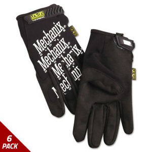 Mechanix Wear The Original Work Gloves Black Xx large 6 Pack