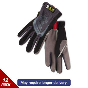 Mechanix Wear Fastfit Work Gloves Black Xx large 6 Pack