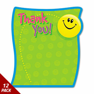 Trend Thank You Note Pad 5 X 5 50 Sheets 12 Pack