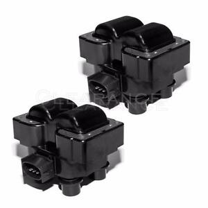 Ignition Coil Packs Pair Set New For Ford Lincoln Mercury 4 6l 5 0l V8 Fd487t