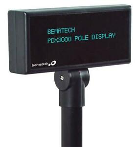 Pcamerica Cre Logic Controls Pdx3000 Pos Pole Display Usb Black Replace Ldx1000