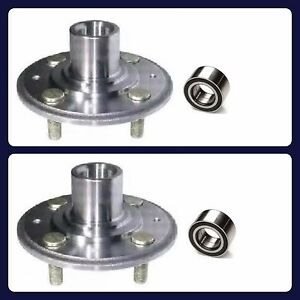 2 Front Wheel Hub Bearing For Acura Integra 1994 2001 New Fast Shipping