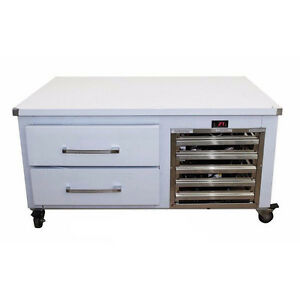 Chef Base Refrigerator 2 Drawer Equipment Stand Cooler 52