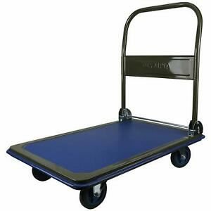 Platform Truck Cart Hand Folding Trolley Home Office Warehouse Heavy Duty Steel