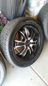 22 American Racing Rims With Tires