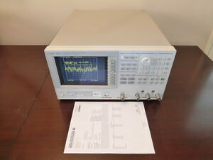 Agilent Hp 4395a 10hz 500mhz Rf Network Spectrum Impedance Analyzer