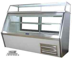 Coolman Commercial Refrigerated 7 11 Style Deli Meat Case 60