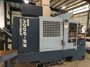 Matsuura Es 800v Pc Cnc Vertical Machining Center 3 axis New 2005