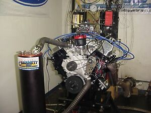 Ford 429 460 Bbf Complete Engine 410hp 520t Mustang F150 Torino F350 Lincoln