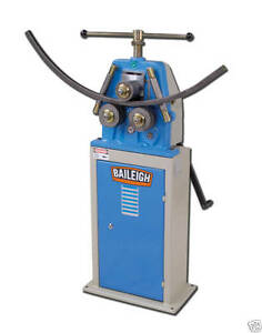 Baileigh R m10 Roll Bender Angle Ring Rolling Machine