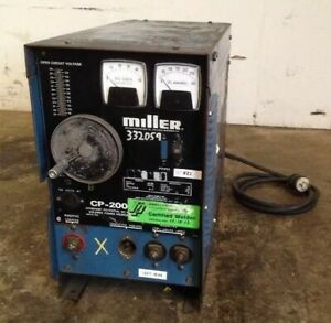 Miller Cp200 Constant Potential Dc Arc Welding Power Source warranty