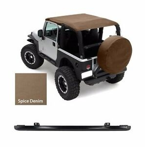 Smittybilt Extended Top And Windshield Channel For 97 06 Jeep Wrangler Tj Spice