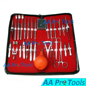 Aa Pro 27 Pc O r Grade Strabismus Ophthalmic Eye Micro Surgery Surgical Tools