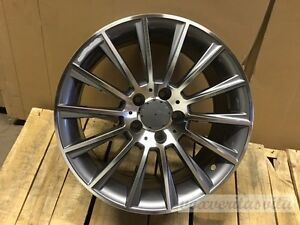 22 New Amg Style Grey Wheels Rims Fits Mercedes Benz S300 S320 S430 S500 S550