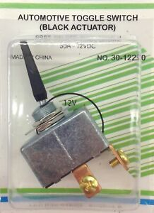 50a 12vdc High Current Toggle Switch Black Handle Spst On off