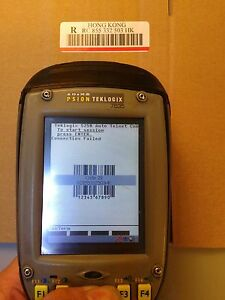 Psion Teklogix 7535 Tess V6 6 Ce4 2 Portable Data Terminal Laser Barcode Collect