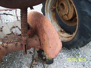 International Farmall Cub Tractor Right Fender
