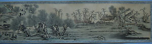 Handscroll Painting Along The River Qingming Festival Korea 20th C