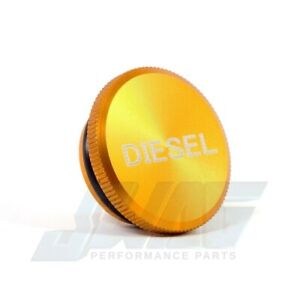 2013 2016 Dodge Ram Diesel Magnetic Billet Aluminum Fuel Cap Anodized Gold