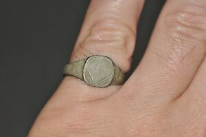Ancient Roman Empire Soldier Legionary Fully Wearable Bronze Ring Sz Us 8 75