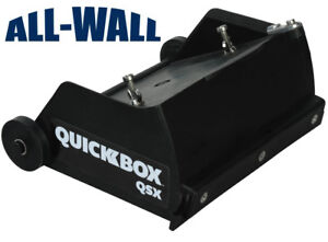 Tapetech Quickbox 6 5 Drywall Flat Finishing Box For Hot Mud Qb06 qsx new