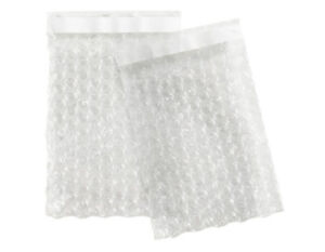 200 Pack 6 X 8 5 Bubble Pouches Clear Self Seal Shipping Bag Made In Usa