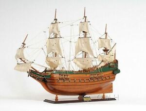 Batavia Dutch Tall Ship 37 Handcrafted Built Wooden Model Sail Boat Assembled