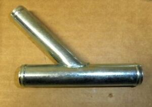 1962 1963 Ford Thunderbird New Metal Y Pipe Tube For Heater Hose System