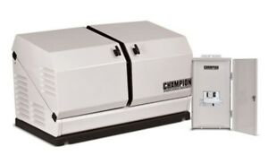 Champion 100177 8 5kw Standby Power Backup Generator Lp Propane Ng Ats Nema 3r