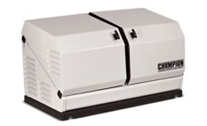 Champion 100199 8 5kw Standby Power Backup Generator Lp Propane Ng Gas