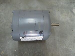 Ac Electric Motor 1 3 Hp 1725 Rpm 208 230 460v 56 Fr Dp