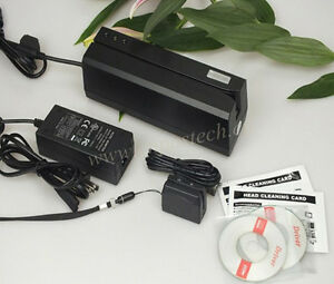 Msre206 Hico Magnetic Stripe Card Writer mini300 Reader Bundle Encoder Collector