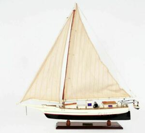 Skipjack Chesapeake Bay Maryland Oyster Sailboat 29 Wooden Model Ship Assembled