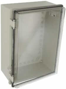 Bud Industries Nbb 10271 Style B Plastic Indoor Box With Clear Door 14 33 64 L