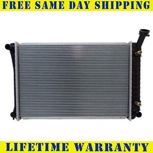 Radiator For 1992 1996 Oldsmobile Ciera Cutlass Cruiser Buick Century L4 V6