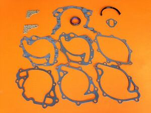 62 82 Fits Ford Mercury Lincoln 221 260 289 302 351w Timing Cover Gasket Set