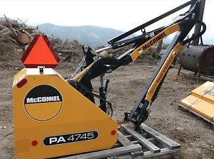 Backhoe Mower Attachment Brand New
