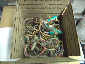 Box Of Old Arcade Pcb Wire Connectors 2