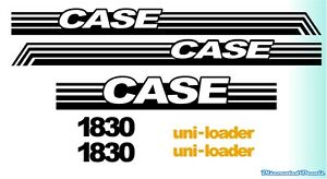 Case 1830 Decal Kit New Style