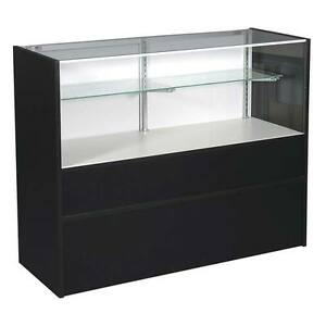 New Or Retails Economy Black 70 Half Vision Showcase With Light