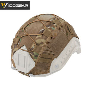 IDOGEAR Tactical FAST Helmet COVER Hunting Airsoft Gear Sports Headwear Camo