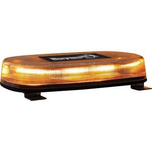 Buyers Products 8891071 Amber Led Mini Light Bar Permanent Mount