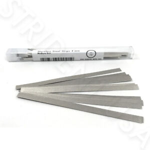 Dental Polishing Strips Stainless Steel 4 Mm Medium Grit 12 Box