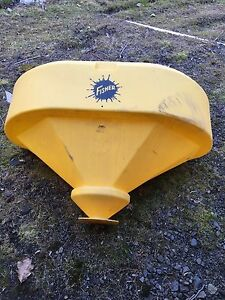 Fisher Hopper Tub For Model 2500 Salt Spreader 96143