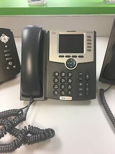Set Of 5 Cisco Voip 5 line Office Phones
